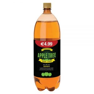 Apple Tree Irish Cider 2 Litre ABV 6%