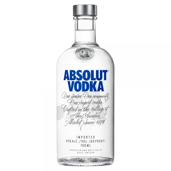 Absolut Vodka 700ml ABV 40%