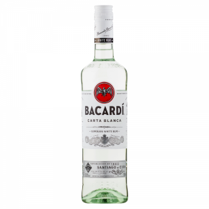 Bacardí Carta Blanca is a light tasting and aromatic white rum with delicate floral and fruity notes, ideal for mixing. As this neither dominates nor disappears, it mixes well with all sodas and fresh juices, as well as your favorite cola.