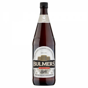 Bulmers Light 1 Litre Bottle ABV 4.5%