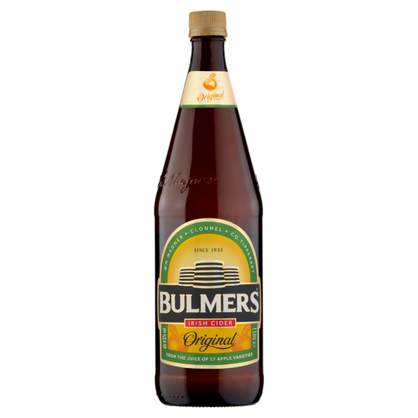 Bulmers Bottle 1 Litre ABV 4.5%