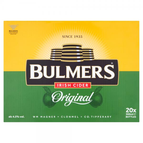 Bulmers 300ml 20 Pack ABV 4.5%