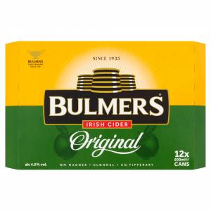 Bulmers 500ml 12 Pack ABV 4.5%