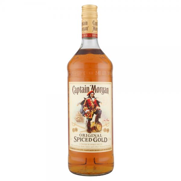 Captain Morgan Rum 1 Litre ABV 35%