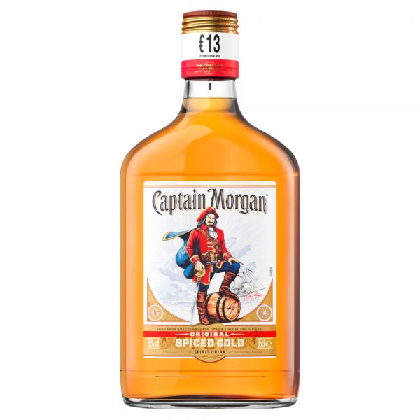 Captain Morgan Rum 350ml ABV 35%