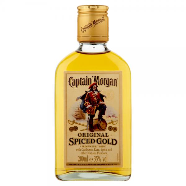 Captain Morgan Rum 200ml ABV 35%