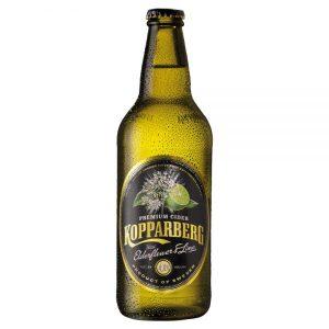 Kopparberg Elderflower & Lime 500ml Bottle ABV 4%