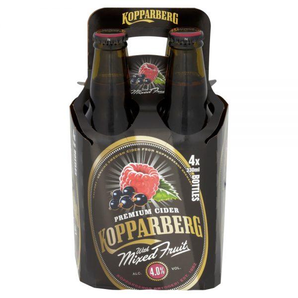 Kopparberg Mixed Fruits 330ml 4 Pack Bottle ABV 5.3%