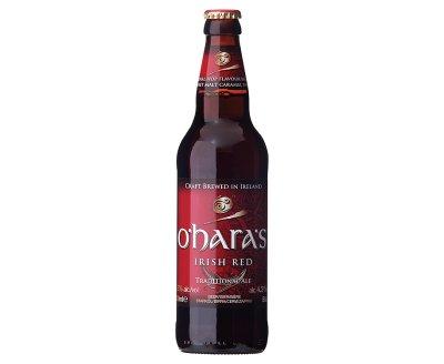 O'Haras Irish Red Ale 500ml Bottle ABV 4.3%