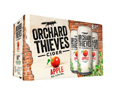Orchard Thieves 500ml 8 Pack Can ABV 4.5%