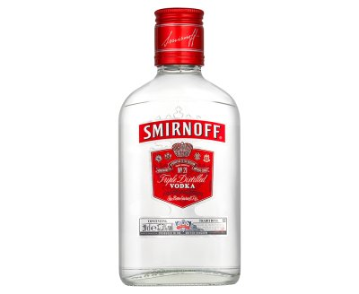 Smirnoff 200ml ABV 37.5%