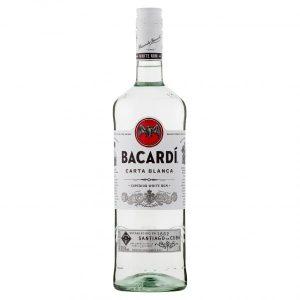 Bacardi White Rum 1 litre 37.5%
