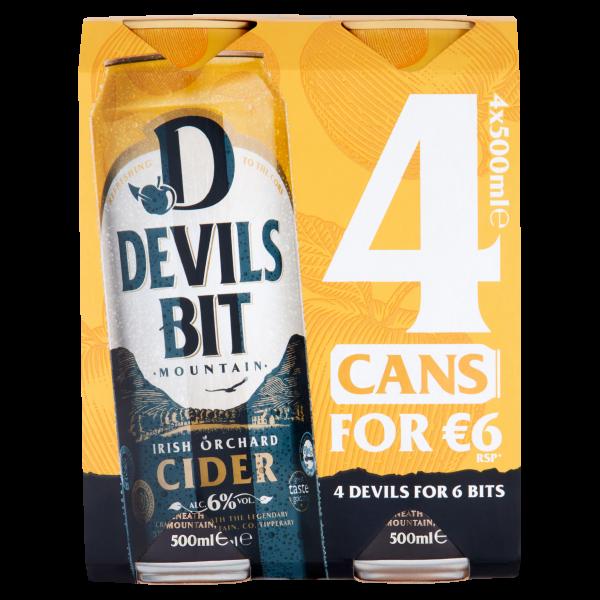 Devils Bit Can 4 Pack ABV 6%