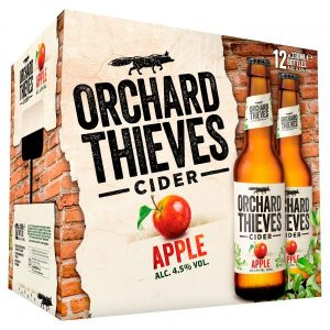 Orchard Thieves 330ml 12 Pack Bottle ABV 4.5%